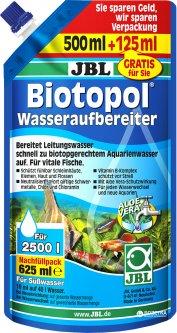 Кондиционер для подготовки воды JBL Biotopol 625 мл на 2500 л (4014162230058 / 4014162230072)