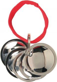 Брелок c дисками для собак Trixie 2288 Хром (4011905022888)
