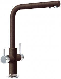 Смеситель кухонный с подключением к фильтру Franke Neptune Clear Water Хром Шоколад (115.0370.696)