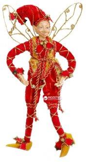 Фигурка Scorpio Эльф новогодний 25 см Красный с золотом (570559)(4820005705597)