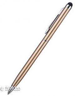 Стилус Value с шариковой ручкой для емкостных экранов Золотистый (S0586)