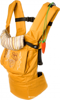Эрго рюкзак-переноска Модный карапуз My baby Янтарь (03-00345_Yantar) (4823553045382)