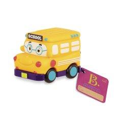 Машинка Battat Забавный автопарк Школьный автобус (BX1495Z)