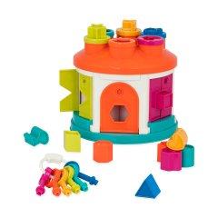 Развивающая игрушка-сортер Battat Умный домик 12 форм (BT2580Z)