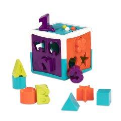 Развивающая игрушка-сортер Battat Lite Умный куб 12 форм (BT2577Z) (6900001205890)