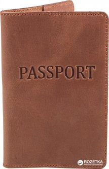 Обложка для паспорта DNK Leather DNK-Pasport-Hcol.N Коричневая (2000000312200)
