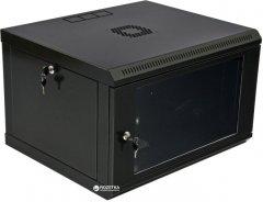 Шкаф монтажный настенный CMS MGSWL 6U Черный (UA-MGSWL65B)