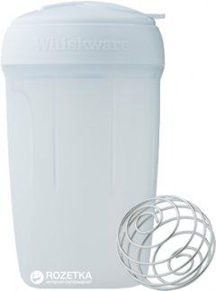 Универсальный шейкер BlenderBottle Whiskware EggMixer 3-в-1 591 мл Белый (EggMixer)