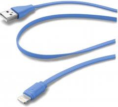 Кабель Cellular Line Lightning 1 м Blue (USBDATACFLMFIIPH5B)