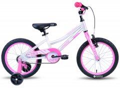 "Велосипед Apollo 16"" Apollo Neo girls Brushed Alloy Pink / White (SKD-11-71)"
