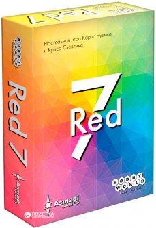 Настольная игра Hobby World Red 7 (4620011817921)