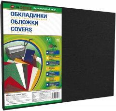 Обложка для переплета картонная 230г/м2 DA Delta Color А3 100 шт Черная (1220101029300)