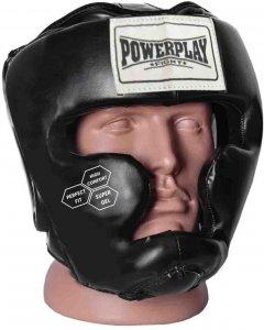 Боксерский шлем PowerPlay 3043 M Черный (PP_3043_M_Black)