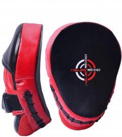 Лапы боксерские PowerPlay 3041 Black-Red (PP_3041_Red)
