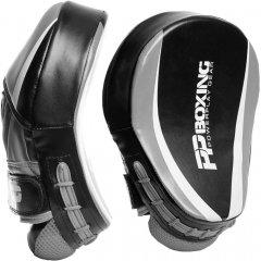 Лапы боксерские PowerPlay 3050 Black-Grey (PP_3050_Grey)
