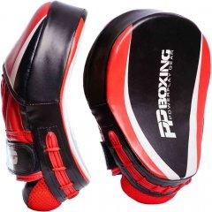 Лапы боксерские PowerPlay 3050 Black-Red (PP_3050_Red)