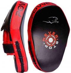 Лапы боксерские PowerPlay 3051 Black-Red (PP_3051_Red)