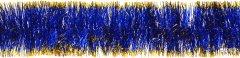 Гирлянда Новогодько (YES! Fun) d75 мм 2 м Синяя с золотистыми кончиками (901024) (4820073390053)