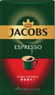 Кофе молотый Jacobs Espresso 450 г (8714599106969)