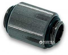 Фитинг EKWB EK-AF Extender 20 мм M-M G1/4 Black Nickel (3831109846346)
