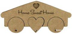 Ключница Rosa Talent Home Sweet Home 3 брелка 19.5х1.2х8.7 см (4823098504573)