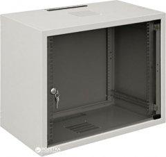 """Шкаф настенный серверный ZPAS 19"""" со стеклянной дверью 12U (WZ-3504-01-03-011)"""