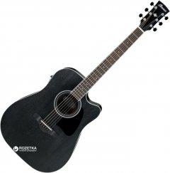 Гитара электроакустическая Ibanez AW84CE (224467) Weathered Black