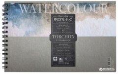 Альбом для акварели на спирали Fabriano Watercolor A6 13.5х21 см 300 г/м2 12 листов (8001348197201)