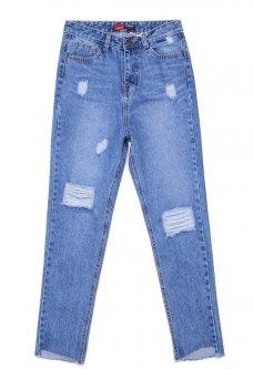 Relucky love jeans 821 26 Голубой