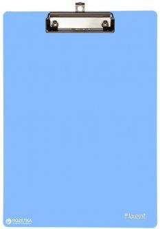 Планшет Axent с металлическим клипом А4 РР голубой (2515-07-A)