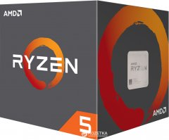 Процессор AMD Ryzen 5 2600X 3.6GHz/16MB (YD260XBCAFBOX) sAM4 BOX