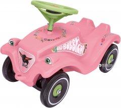 Машинка для катания малыша BIG Цветок с защитными насадками для обуви (56110)
