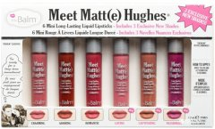 Набор матовых мини помад TheBalm Meet Matte Hughes Mini Vol.3 7.2 мл (681619810800)