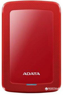 Жесткий диск ADATA DashDrive HV300 1TB AHV300-1TU31-CRD 2.5 USB 3.1 External Slim Red