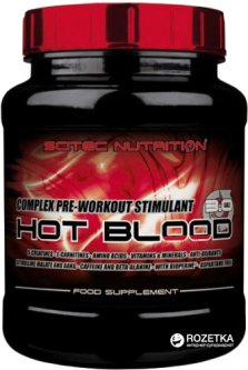 Предтренировочный комплекс Scitec Nutrition Hot Blood 3.0 820 г Blue Guarana (728633109326)