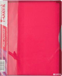 Папка пластиковая Axent А5 20 файлов Розовая (1220-10-A)