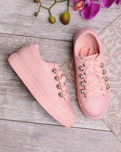 Кеды Yalike 308-14 37 Розовый