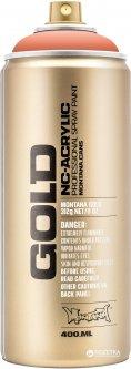 Акриловая краска-спрей Montana Gold CL2130 Темная креветка 400 мл (Shrimp Dark) (4048500283628)