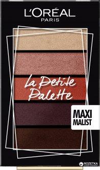 Палетка теней для век L'Oréal Paris La petite palette 1 Maximalist 4 г (3600523556014)