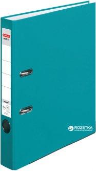 Папка-регистратор Herlitz А4 5 см Protect бирюзовая (50015955)