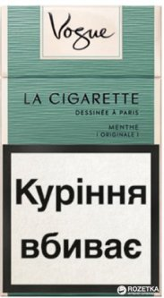 Сигареты vogue menthe купить заказать с доставкой электронную сигарету