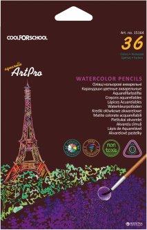 Карандаши акварельные профессиональные Cool for School Art Pro 36 цветов (CF15164)