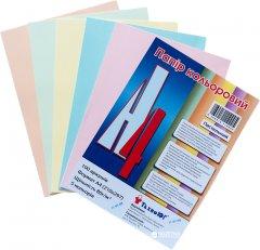 Набор цветной бумаги ТехноЮг Mini ассорти пастель А4 100 листов 12 шт (0269910110005 )