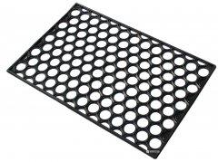 Придверный коврик Киевгума Соты с отверстиями 40x60 Черный (A90160000080456)