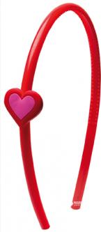 Обруч для волос пластмассовый Сердце Titania 8502 Kids (8502 KIDS)