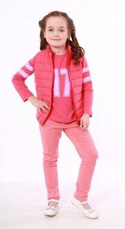 Джинсы NJW London 134 см Розовый (21173)