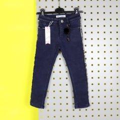Джинси на флісі, для дівчинки F&D Kids (1070син) Ріст 110-116 см Синій