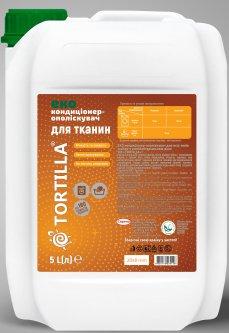Эко кондиционер-ополаскиватель Tortilla для всех типов тканей с антибактериальным действием 5 л (4820178060158)