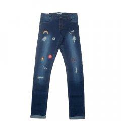 Джинси Name it 13140195 Medium Blue Denim 10A/140CM синій