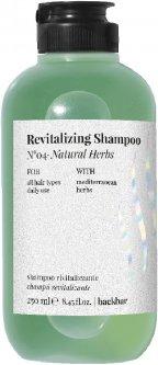 Травяной шампунь FarmaVita Back Bar Revitalizing Shampoo N°04 для глубокого очищения 250 мл (8022033107169)